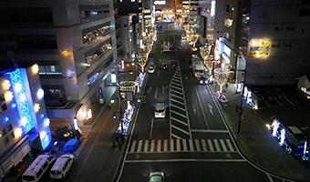 空撮事例-高崎駅光のページェント1