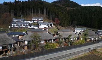 空撮事例-川場温泉